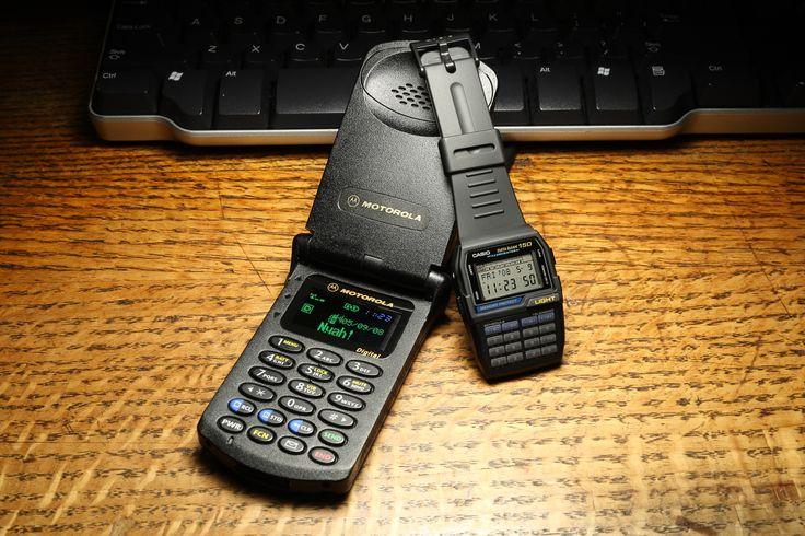 Motorola StarTac (legendary) with custom OLED display