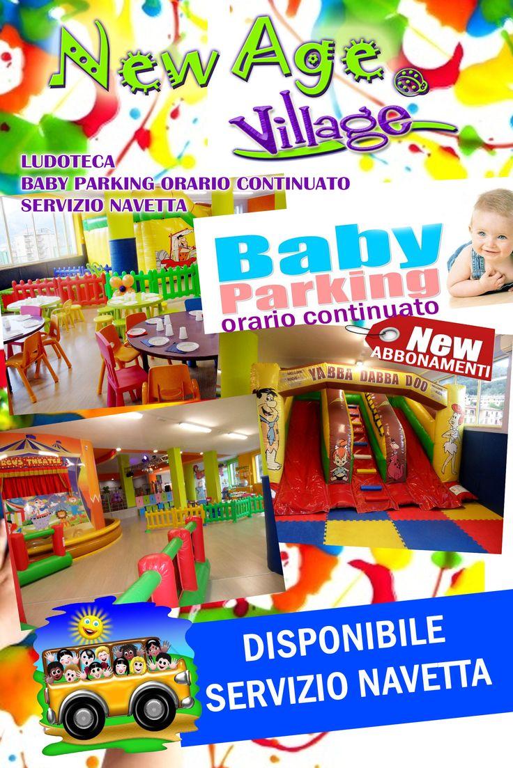Baby Pariking orario continuato dal Lunedì al sabato. Disponibile Servizio Navetta. Per Info:089272392 - 3881817800