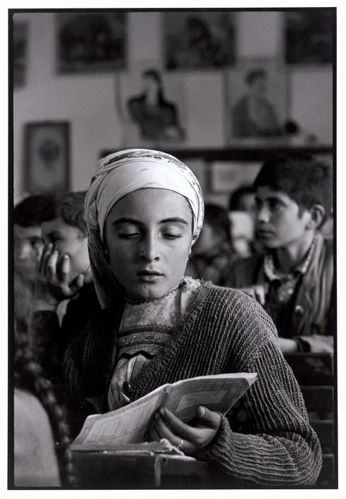 "Greece. Karpathos. Olympos. 1964. The village school. ""A Greek Portfolio"" p.104 © Costa Manos/Magnum Photos"
