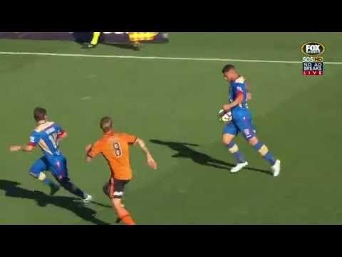 Newcastle Jets vs Brisbane Roar FC - http://www.footballreplay.net/football/2016/10/16/newcastle-jets-vs-brisbane-roar-fc-2/