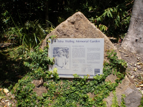 Buderim Garden Memorial for Edna Walling