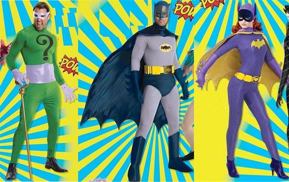 Classic 1966 'Batman' Halloween Costumes Are Coming This Year
