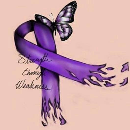 Strength through weakness.  Autoimmune disease awareness.