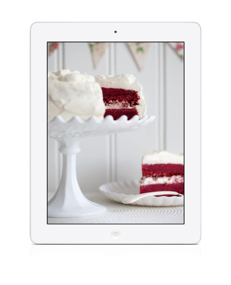 Red Velvet Cake #glutenfree #glutenfri Cook & Bake Gluten Free is a #baking #cookbook #app filled with delicious recipes for cakes - tasty and gluten-free! Available for #iPad and #iPhone. https://itunes.apple.com/gb/app/cakes-cook-bake-gluten-free/id669052535?mt=8