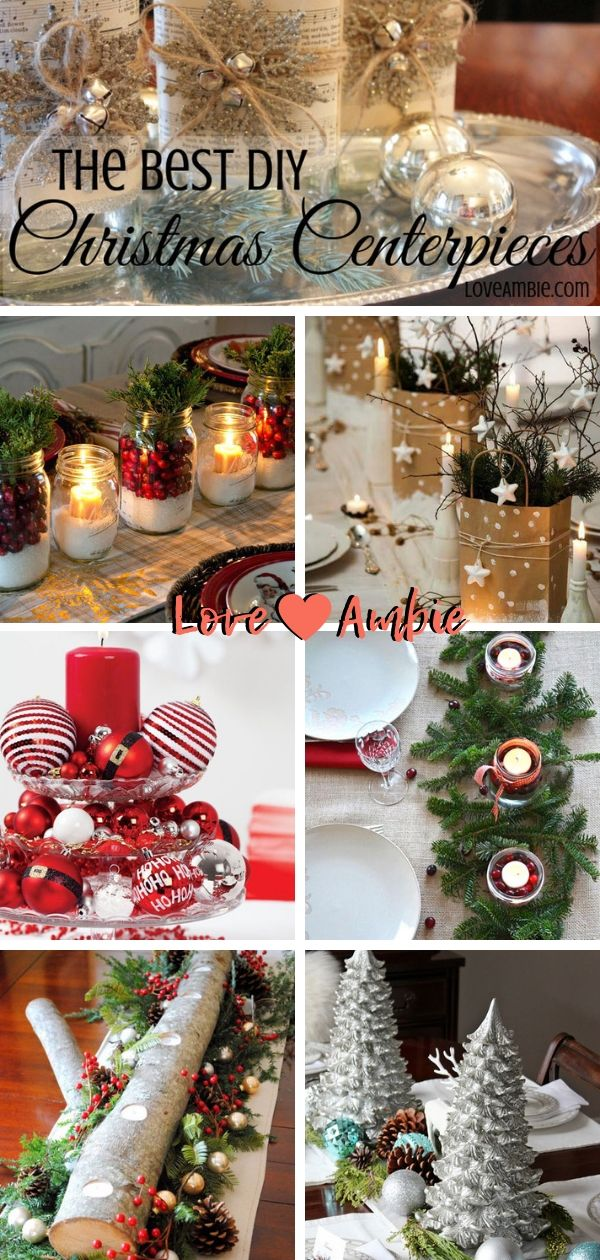 35 Best Diy Christmas Centerpieces Easy Creative Ideas 2020 Guide Christmas Centerpieces Diy Christmas Centerpieces Christmas Tree Decorations Diy