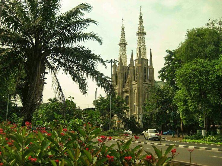 Katedral Jakarta. Indonesia