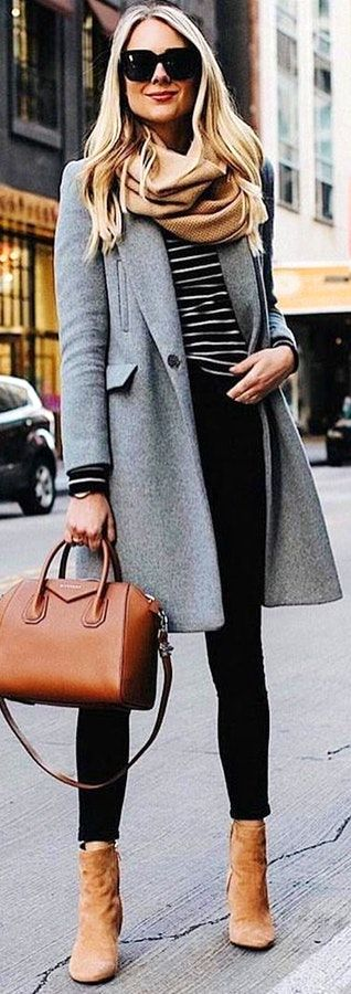 winter style | coat | scarf | layers | winter outfit
