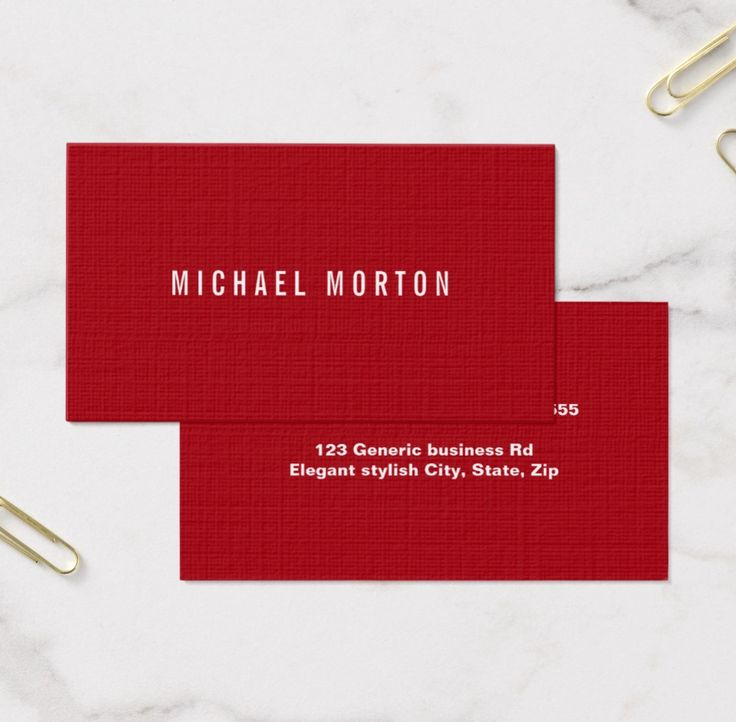 55 best Generic business cards images on Pinterest | Sign writer ...
