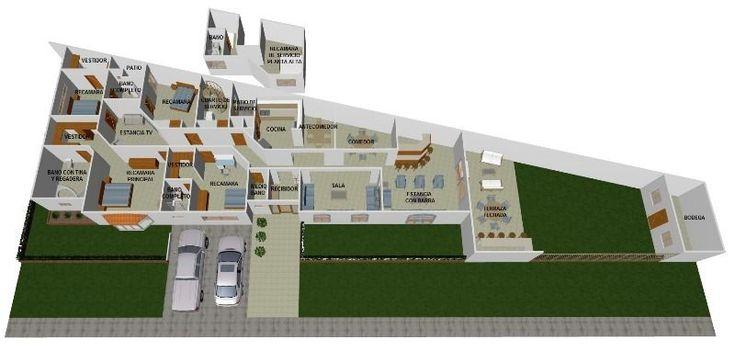 Son 728m2 de terreno con 403m2 de construcción.4 recamaras con baño y vestidor, una con tina. Sala de TV. Recibidor, medio baño,sala comedor, antecomedor, cocina, patio de servicio, cuarto de lavado. Estancia con barra, terraza techada, jardín, cuarto de servicio. EasyBroker ID: EB-AR9069