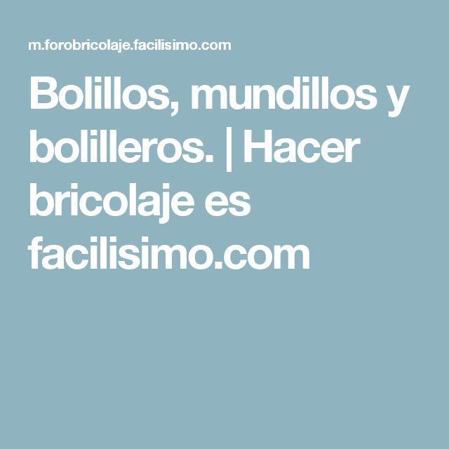 Bolillos, mundillos y bolilleros.   Hacer bricolaje es facilisimo.com