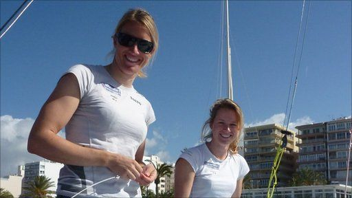 British Olympic sailing hopeful Saskia Clark has teamed up with Hannah Mills to continue her London 2012 bid after previous partner Sarah Ayton retired. Nick Hope reports