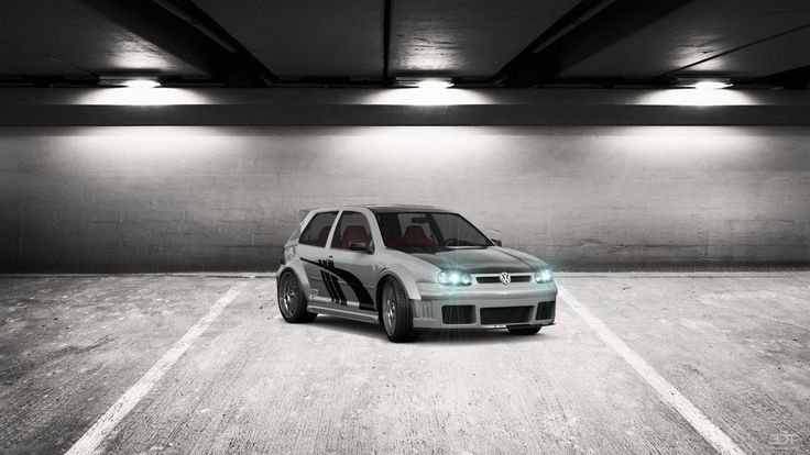 Volkswagen Golf4 2004 3DTuning