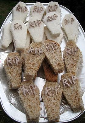 Tomb Sandwiches - Mini Tabut Sandviçler - Tombe di Panini