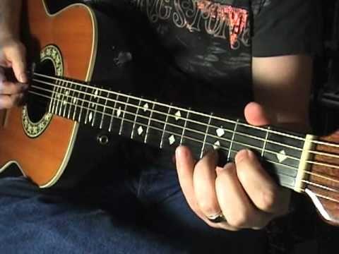 Basic Willie Nelson Style Walk Ups & Walk Downs Scott Grove Guitar Lesson - YouTube
