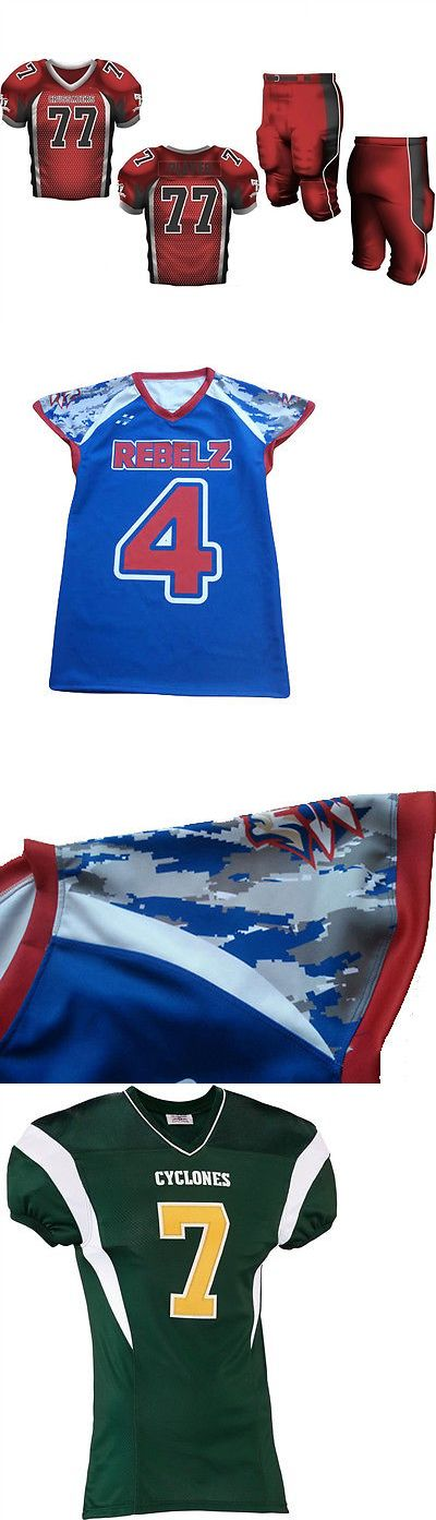 Men 159109: Fully Custom American Football Jerseys And Pants Adult Youth Sport Uniform Kit New BUY IT NOW ONLY: $95.0