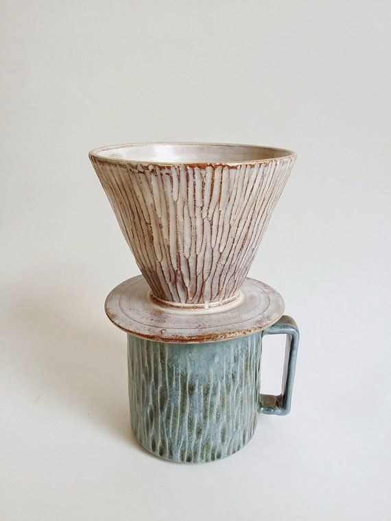 Made to Order / Coffee pour over, drip coffee maker, dripper by MUD TO LIFE