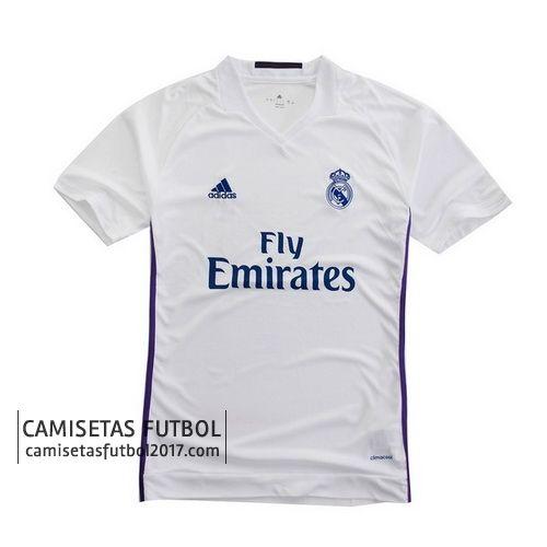 Primera camiseta de Tailandia Real Madrid 2016 2017
