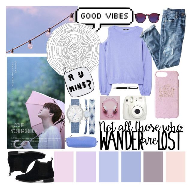 """""""💗Pink pastel💗"""" by anafilipafonseca2004 ❤ liked on Polyvore featuring MANGO, J.Crew, McQ by Alexander McQueen, TOMS, SCERVINO STREET, John Lewis, A.X.N.Y., Fujifilm, Pink and purple"""