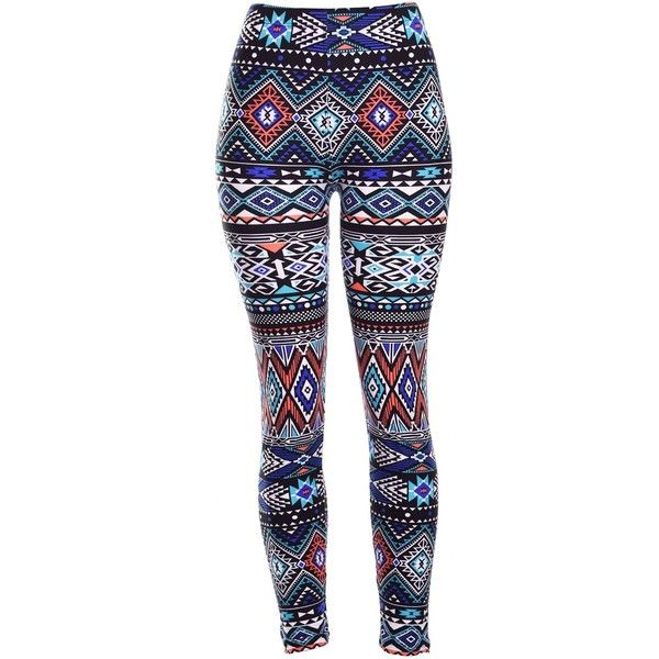 Amazon.com: High Quality Printed Leggings (Ancient): Clothing ($15) ❤ liked on Polyvore featuring pants, leggings, womens trousers and men pants