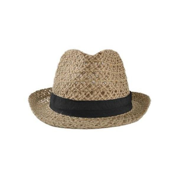 New Fashion Women Men Straw Hat Linen Hollow Out Summer Sunbonnet Jazz... ($100) ❤ liked on Polyvore featuring men's fashion, men's accessories, men's hats, mens summer straw fedora hats, mens straw hat, mens summer hats and mens hats