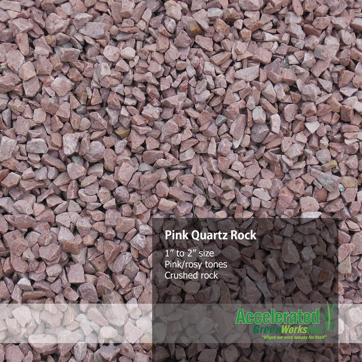1000 images about landscaping rock and mulch on pinterest for Landscaping rocks quartz