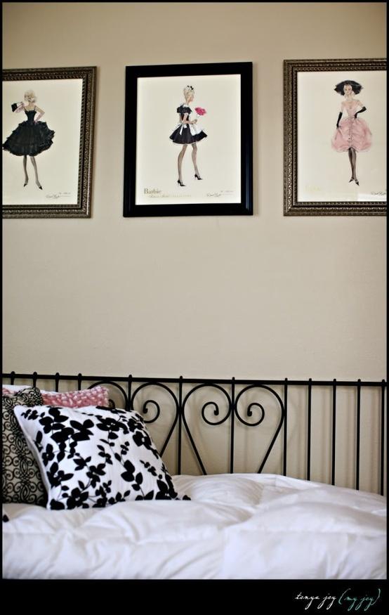 silver jewelry shops Little girl39s bedroomvintage barbie  Bryar Jean