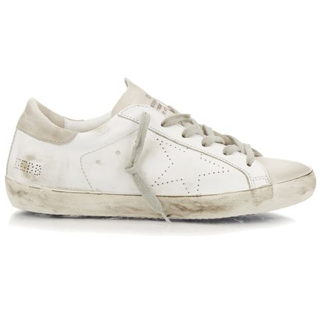 Feel a bit like you've been-there-done-that with your Stan Smiths trainers? Well save your pennies and opt for something a little rougher around the edges because Golden Goose's dishevelled designer trainers are hotter than ever.