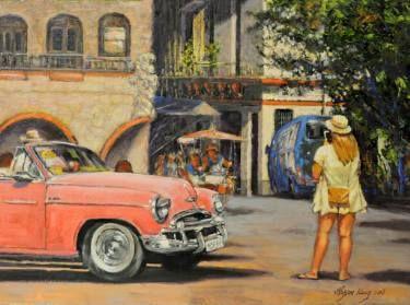 Obispo Plaza in Havana
