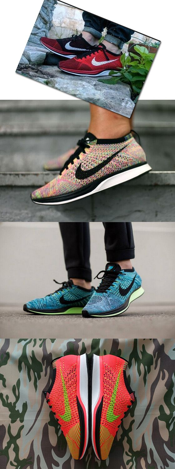 NIKE FLYKNIT RACER UNIVERSITY RED/WHITE-BLACK,Nike Flyknit Racer Multicolor /RAINBOW,Flyknit Racer 2.0 BLUE LAGOON,Nike Flyknit Racer Hyper Punch/Black/Electric Green For Men and Women only $40