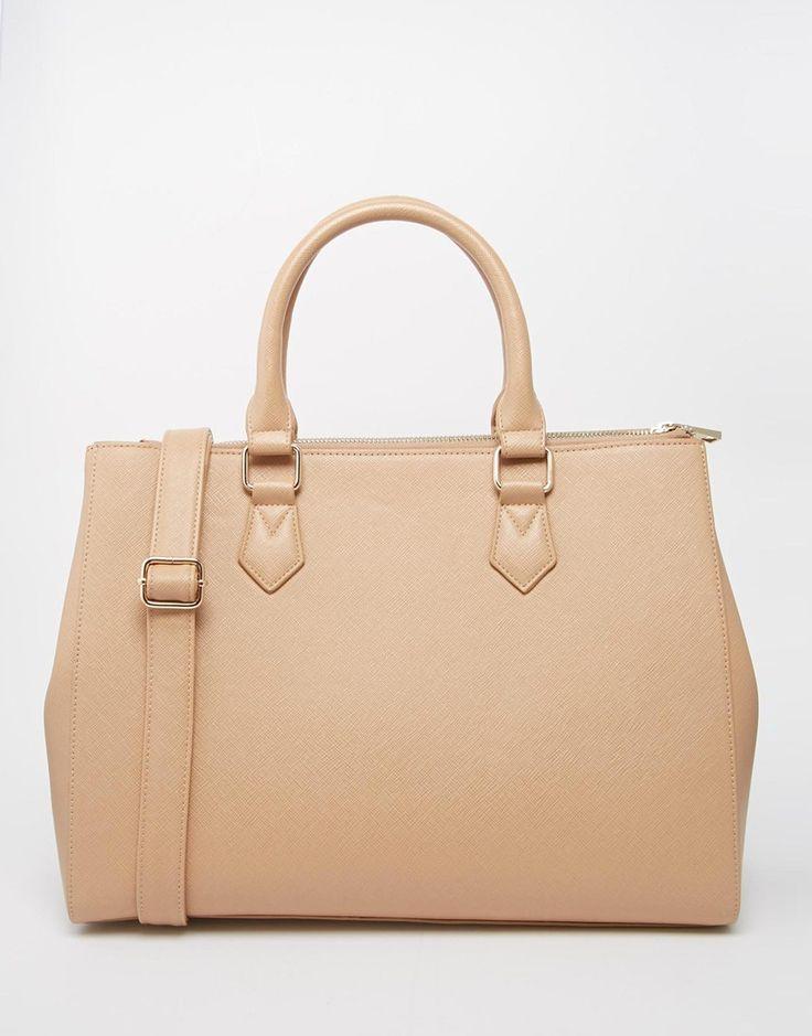 Asos Zip Top City Bag