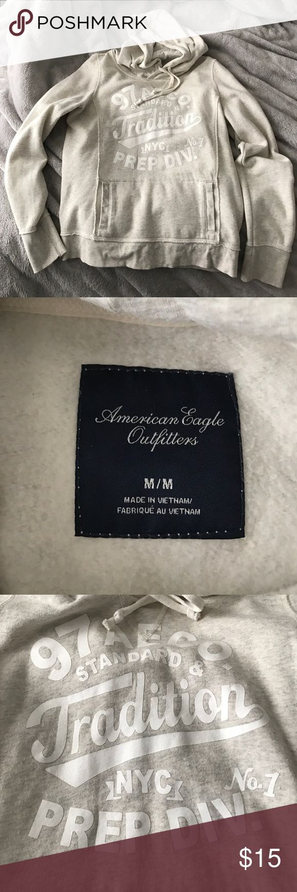 American Eagle Sweatshirt Great condition barely worn, just grew out of it. American Eagle Outfitters Tops Sweatshirts & Hoodies