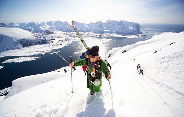 Фрирайд в самом красивом уголке мира #Norway #ski #Lofoten