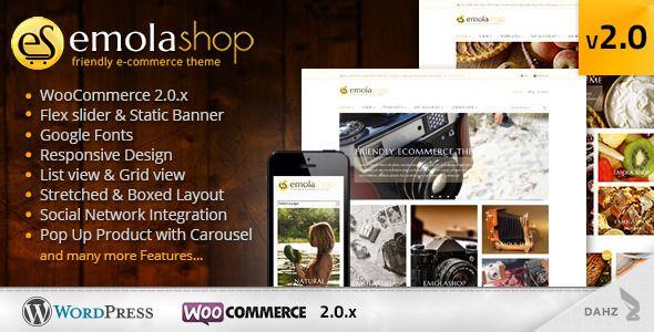 EmolaShop - A Friendly Wordpress eCommerce Theme - WooCommerce eCommerce