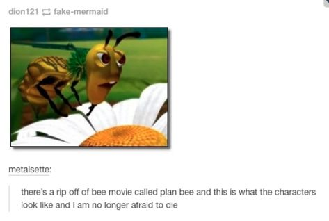 """""""According to all known laws of aviation, there is no way that a bee should be able to fly."""""""
