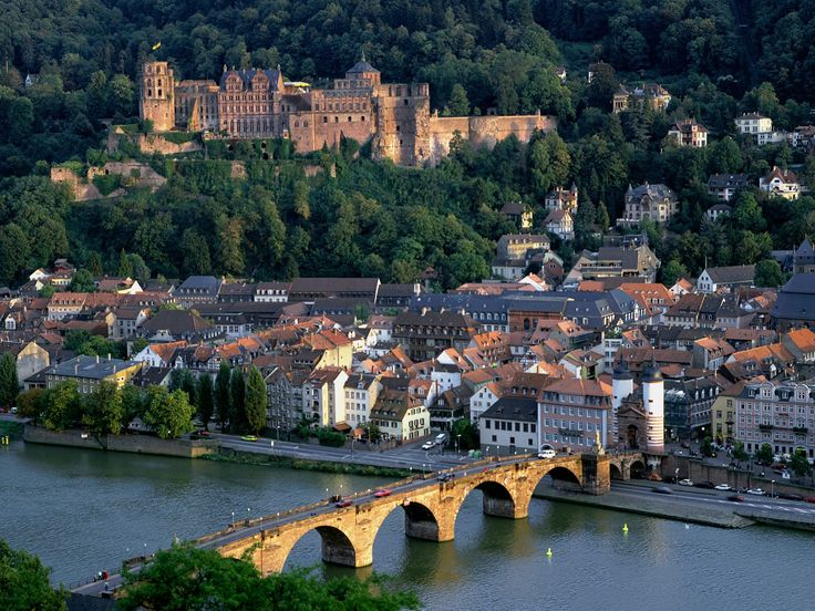 Heidelberg, Germany (Bavaria). Gorgeous town filled with interesting shops and historic castle.