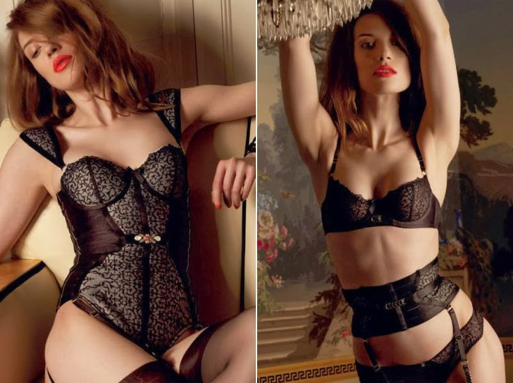 Luxury Ideas: Bordelle Capsule Collection Of Couture Lingerie Is Exclusive To Selfridges