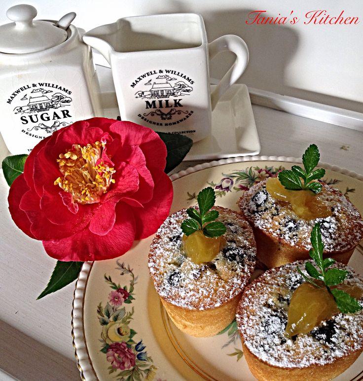 Blueberry Friands - Gluten Free