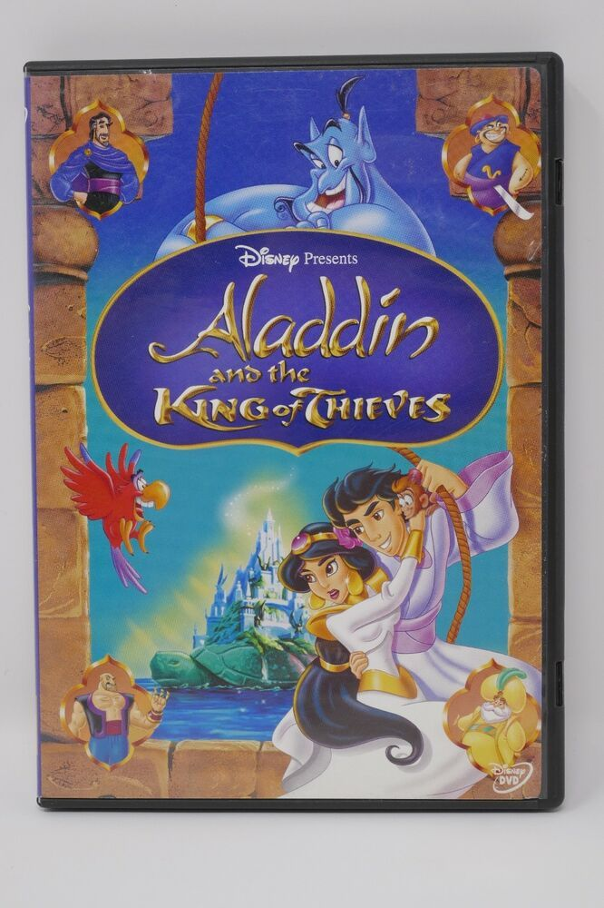 Disney Aladdin And The King Of Thieves Dvd 2005 Disney