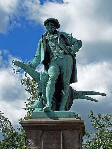 Robert Burns statue, Renfewshire