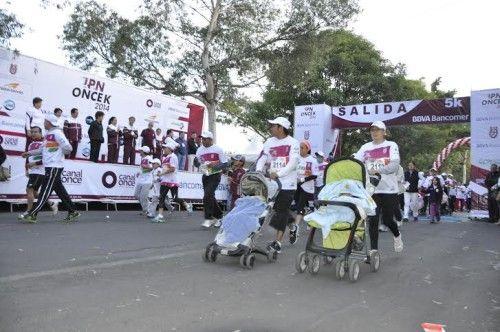 Reunió a más de 24 mil participantes carrera del IPN ONCEK