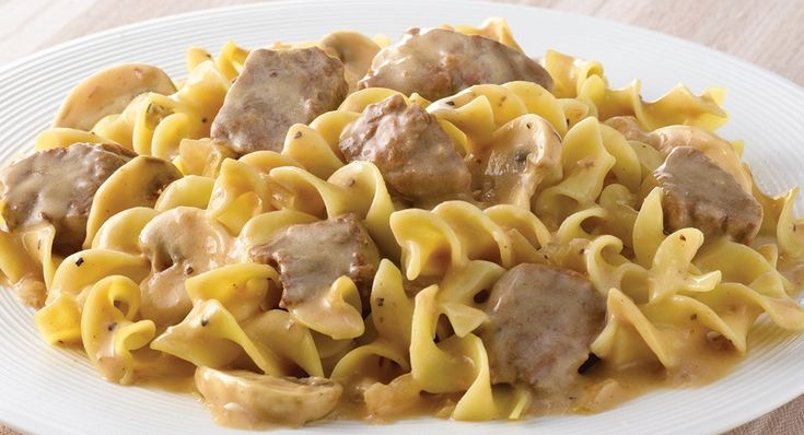 Slow Cookers Beef Stroganoff - Everyday Cooking - McCormick.com - This elegant, comfort-food classic is now easy to prepare with McCormick® Slow Cookers Beef Stroganoff Seasoning.