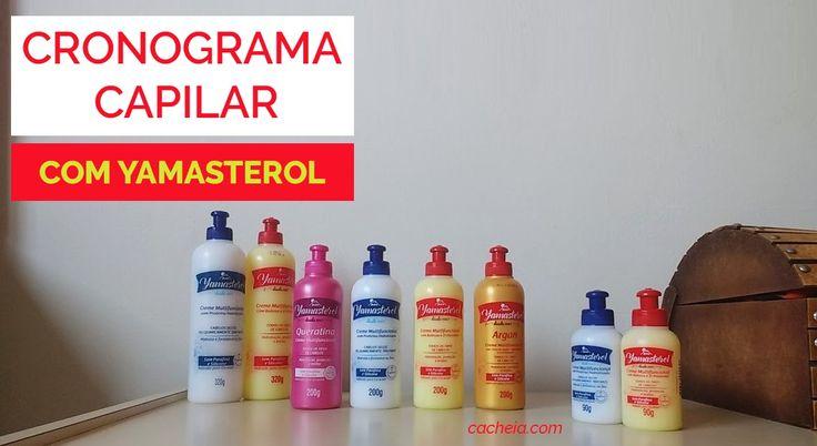 Como seguir o cronograma capilar com Yamasterol: opção barata para cuidar do cabelo em casa.