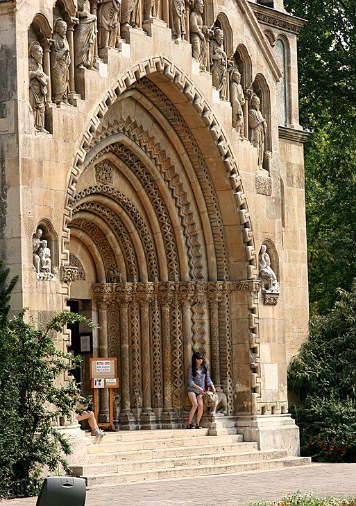 Budapest, Városliget, Jáki kápolna