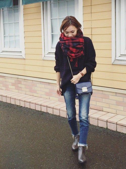♡ учиться вместе том, как кончики длинных юбки, брюки × короткие сапоги Kohde образец книги - Locari (Rokari)