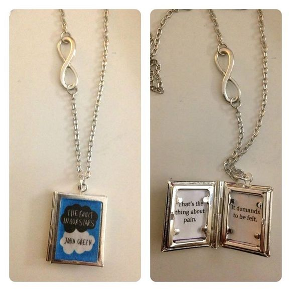 Fault in Our Stars Necklace