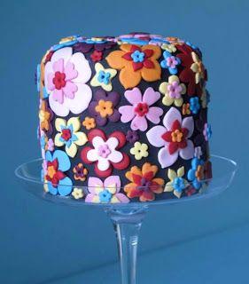 Floral Mini Cake