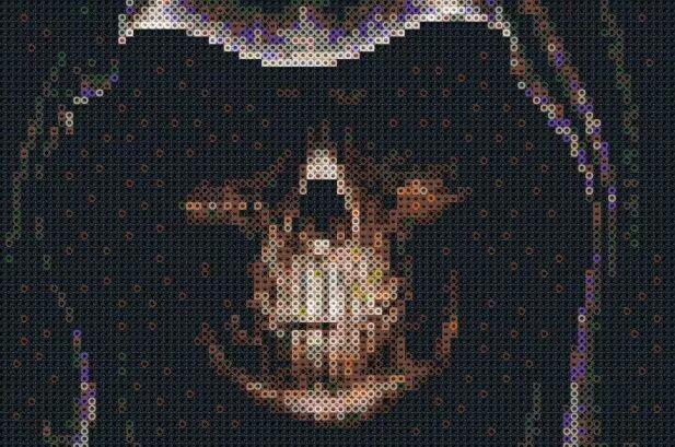 99 Best Images About Perler Beads Skulls On Pinterest