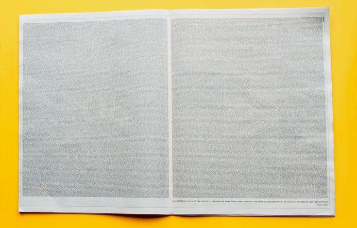 Case: Book ブラジルの作家パウロ・コエーリョの世界的な大ベストセラー小説「The Alchemist(*アルケミスト)」が、新たな販売記録を打ち立てたことを記念して実施したユニークなプロモ