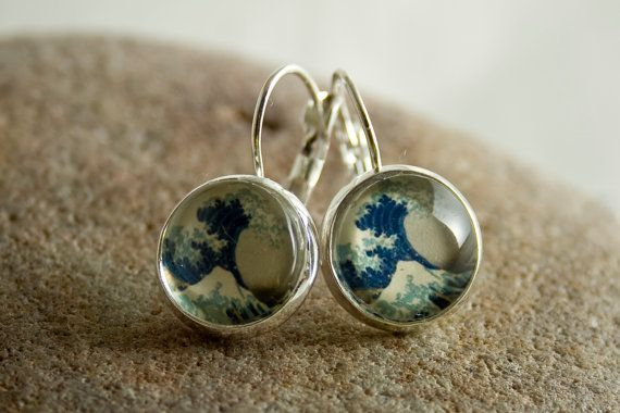 Classic waves earrings