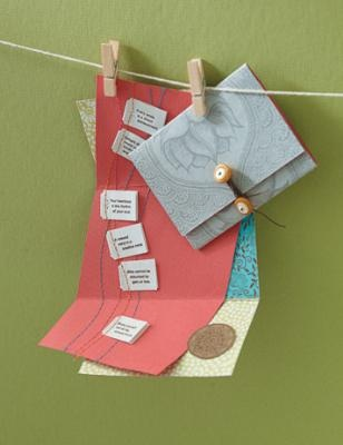 How to make inspirational cards with Yogi Tea boxes and quotes <3 Such a cute idea!